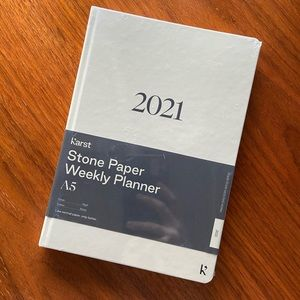 Brand new Karst Stone paper planner